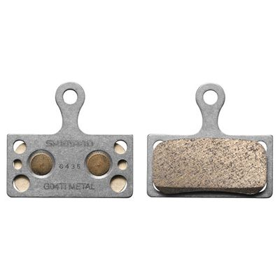 Shimano schijfremblok G04Ti XTR Titanium Metal Y8LW98010