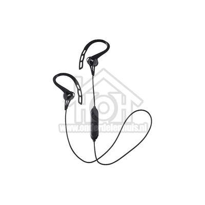 JVC Hoofdtelefoon Wireless In Ear Sport met Pivot Motion Fit Zwart, Bluetooth HAEC20BTBE
