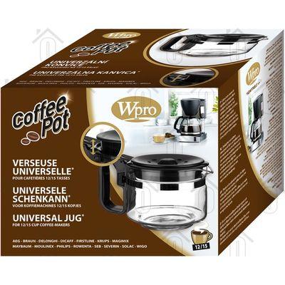WPRO Koffiekan 12/15 kops -zwart- Universeel 484000000317