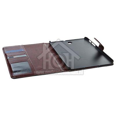 Spez Book Case Met Creditcard sleuven, Denim, Vak voor documenten Samsung Galaxy S2 8.0,