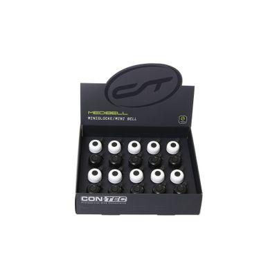 Contec Minibel Display À 20 Stuks, 10X Zwart / 10X Wit