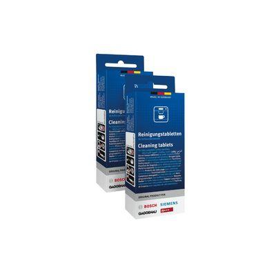 Bosch Reiniger Voor koffiezetapparaten en thermoskannen TCZ6001 Inhoud 20 stuks a 2,2 gram