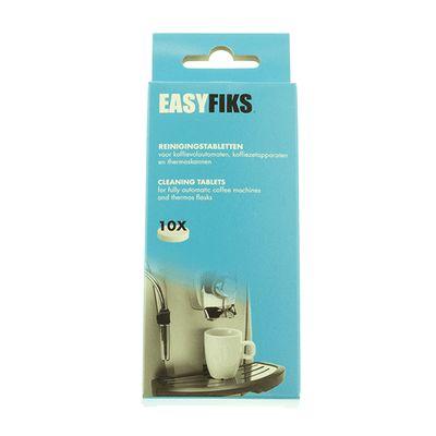 Easyfiks Reiniger Tabletten Koffiezetters, waterkokers Reinigungstabletten