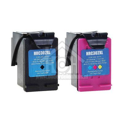 Easyfiks Inktcartridge No. 302XL Black + Color Combipack Deskjet 1110, 2130, 3630