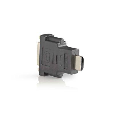 Foto van DVI-D contra - HDMI adapter