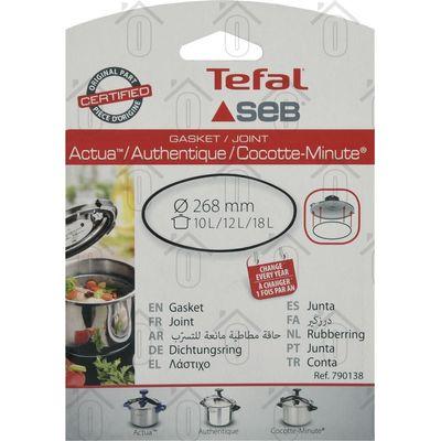 Tefal Afdichtingsrubber Deksel snelkookpan 10L./12L./18L. Actua, Authentique,