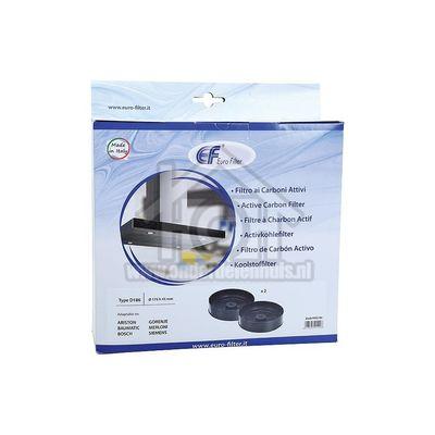 Bosch Filter Koolstof, Rond 173mm, 2 stuks SOD920090 00602799
