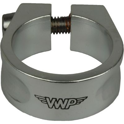 VWP Zadelpen-klem alu 31.8mm zilver FF (34)