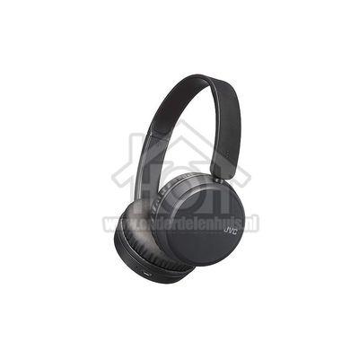 JVC Hoofdtelefoon Draadloze hoofdtelefoon, zwart Bluetooth, Bass Boost functie HAS35BTBU