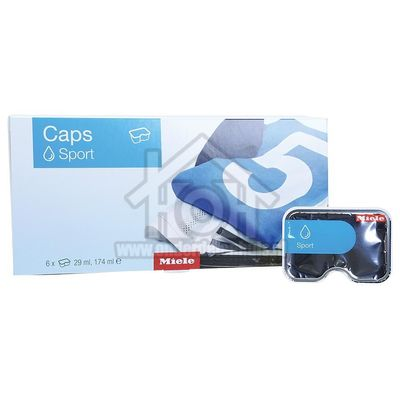 Miele Wasmiddel Pakket met 6 caps Sport Caps Sportkleding 10756380