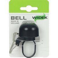 Widek bel Paperclip mini zwart op kaart 4274