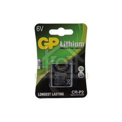 Foto van GP Batterij fotobatterij lithium 6V DL223A CRP-2 070CRP2D1