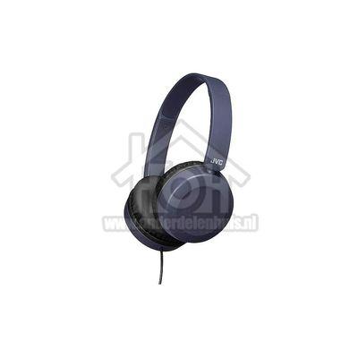 JVC Hoofdtelefoon Lichtgewicht hoofdtelefoon, blauw iPhone compatible HAS31MAE