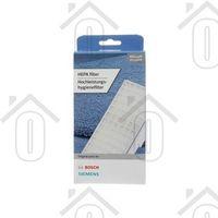 Bosch Filter Hepa filter 195x85x25mm VSZ62541, VSZ6GP12 00579496