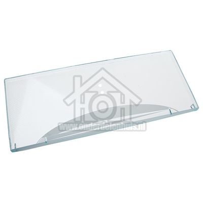 Liebherr Frontpaneel Van lade, Transparant, 453x184mm CBN3956, CUN3912 9791356