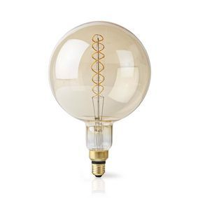 Nedis LED-Filamentlamp E27   G200   5 W   280 lm   2000 K   Warm Wit   Retrostijl   Aantal lampen i