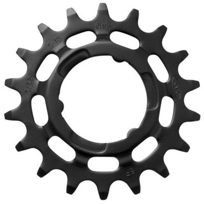 KMC tandwiel R Shimano 20T Chromoly zwart 1/8
