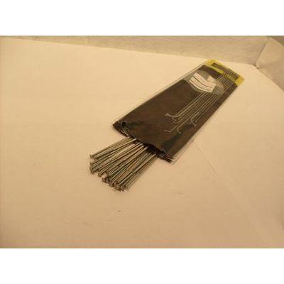 Spaak 14-260 CX RAY zilver met nippel plat rechte-kop p/20
