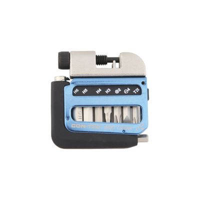 Contec Multi-Tool Pocket Blauw / Zilver / Zwart