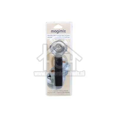 Magimix Filterhouder met 1 en 2 kops filter L'Expresso & Filtre, L'Expresso Automatic