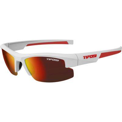 Tifosi bril ShutOut mat wit/rood (XS/S)