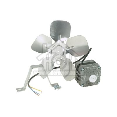 Universeel Motor ventilator 10 W kompleet diverse mod,rechts draai.