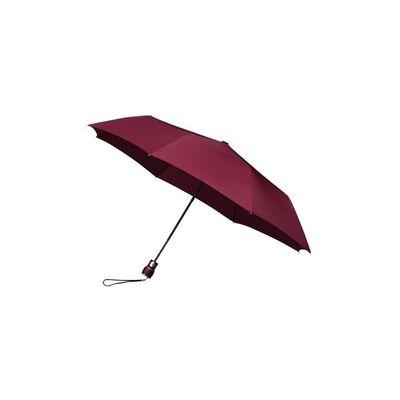 Opvouwbare paraplu bordeaux (windproof)