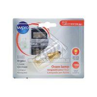 WPRO Lamp Ovenlamp 25W E14 T25 L.55mm, diam. 23mm 484000008842