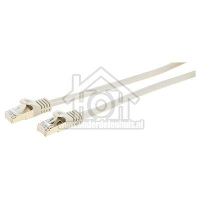 Easyfiks UTP/Netwerk kabel UTP CAT6E Netwerkkabel, RJ45 Male - RJ45 Male 10 Meter, Grijs
