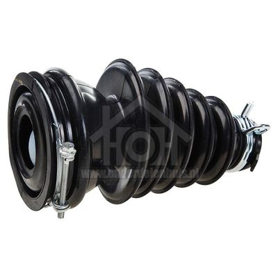 Beko Slang kuip filter Met kogel WMD25125, WMD66126, WMB51220 2865200100