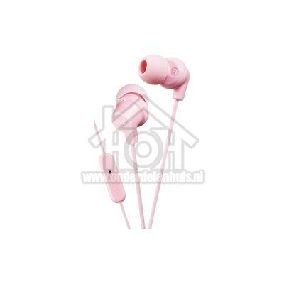 JVC Hoofdtelefoon In ear hoofdtelefoon Light Pink iPhone/iPod/Android/BlackBerry HAFR15LPE