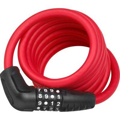 Abus kabelslot code Numero 5510C/180 red SCMU