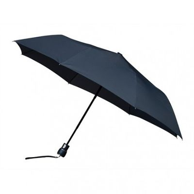 Opvouwbare paraplu donkerblauw (windproof)