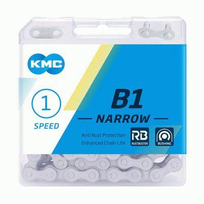 KMC ketting 1/2x3/32 112s B1 Narrow RB mat zilver 5/6v