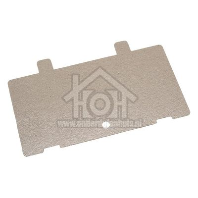 Bosch Micaplaat 120x65mm met gaatje HB77L65, HBC86Q650 00417700