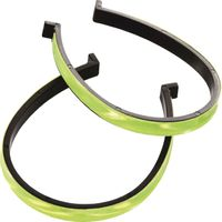 Wowow broekklem Trouser clips fluo yellow
