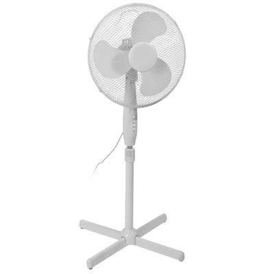 Staande ventilator 40cm Wit