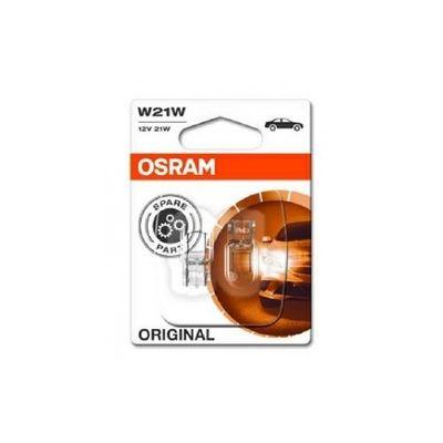 Foto van Osram autolamp W21W 12V
