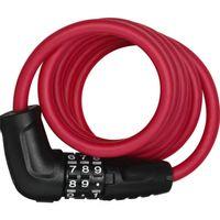 Abus kabelslot code Star 4508C/150 red