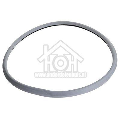 Zanussi Afdichtingsrubber Tussen deur en filter TCE7114, TCE7224 1251085021