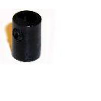 Klemnippel M10 Binnendraad Zwart