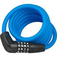 Abus kabelslot code Numero 5510C/180 blue SCMU