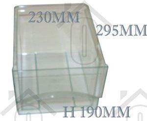 Liebherr Groentelade Transparant klein 295x230x185mm ICS3113, IKP2450 9290334