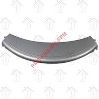 Bosch Deurgreep Gebogen, zilver WFX3270, WFL148A, WFL121A 00490903