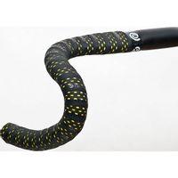 Bikeribbon Stuurlint PU Color Perf Zwart - Geel