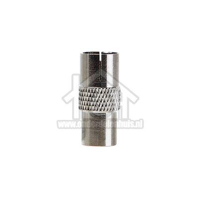 Easyfiks Antenne Adapter Coax, IEC Male - IEC Contra Female Koppelstuk BME145
