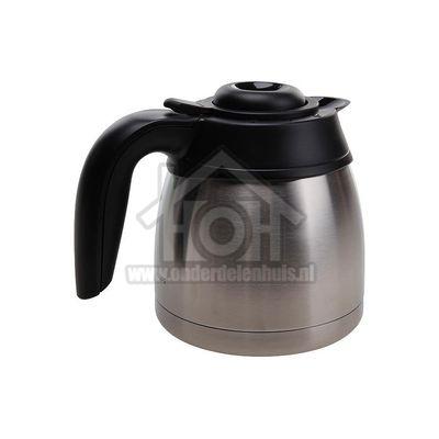 Philips Koffiekan Thermoskan zwart/rvs HD7546, HD7546/20 996500032696