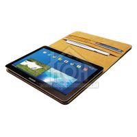 Spez Book Case Leder, Zwart, 4 creditcard slots, 1 document slot Samsung Galaxy Note 10.1