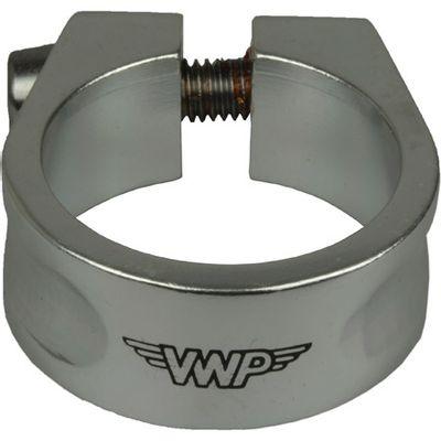 VWP Zadelpen-klem alu 28.6mm zilver (33)