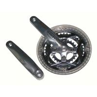 Crankstel 3-Blads 48-38-26 Aluminium